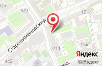 Схема проезда до компании Мэджик Стайл Креатив в Москве