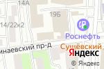 Схема проезда до компании Альянс Медиа в Москве