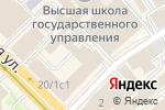 Схема проезда до компании Fame creative в Москве