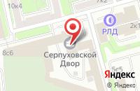 Схема проезда до компании Технострой Альянс в Москве