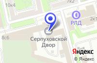 Схема проезда до компании ПТФ СДМ-МЕБЕЛЬ в Москве
