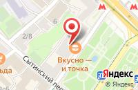 Схема проезда до компании Дакси в Москве