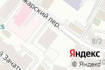Схема проезда до компании Дом на Пожарском в Москве