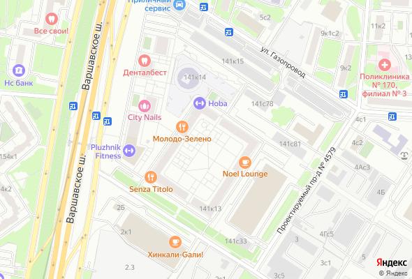 купить квартиру в ЖК Варшавское шоссе 141