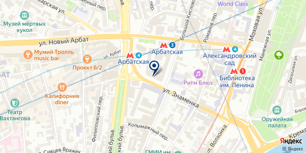 MOSCOW METRO SOUVENIRS на карте Москве