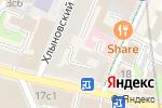 Схема проезда до компании МОСКВА-АДВОКАТ в Москве