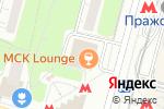 Схема проезда до компании Fan Zone в Москве