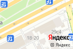 Схема проезда до компании Дарина-Т в Москве