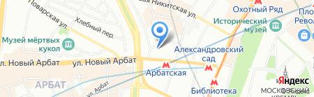 Турстрой-М на карте Москвы