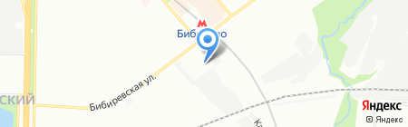 Сток-центр на карте Москвы