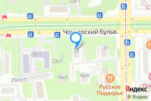 Сдается комната в двухкомнатной квартире в Москве Чонгарский б-р, 23