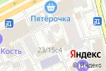 Схема проезда до компании Объединенное королевство в Москве