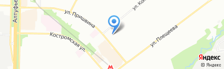 Perrino на карте Москвы