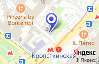 Схема проезда до компании ПТФ РОСАГРОХИМ в Москве