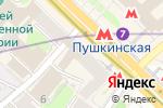Схема проезда до компании Incanto в Москве