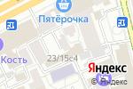 Схема проезда до компании Айзорэль в Москве
