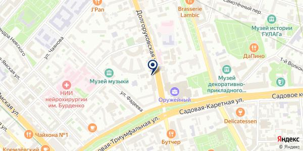 БЕСТ-Недвижимость на карте Москве