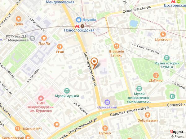 Остановка Киностудия Союзмультфильм в Москве