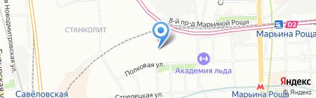 Пресс-служба на карте Москвы