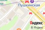 Схема проезда до компании MagazinLinz.ru в Москве