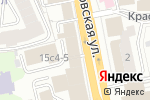 Схема проезда до компании 5smart в Москве