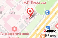 Схема проезда до компании Издательский Центр «Нескучный Сад» в Москве