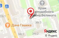 Схема проезда до компании Агентство Аргумент успеха в Москве