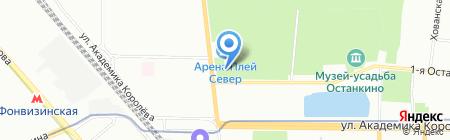 О кино на карте Москвы
