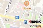 Схема проезда до компании Сэйдж в Москве