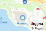 Схема проезда до компании Рай цветов в Москве