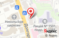 Схема проезда до компании Логос-М в Москве