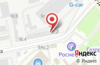 Схема проезда до компании Комплект-Пак в Москве