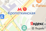 Схема проезда до компании Розовый Сад в Москве