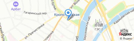 Лето Прайм на карте Москвы