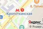 Схема проезда до компании MEGAFLOWERS в Москве