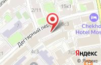 Схема проезда до компании Ювелир-Информ в Москве