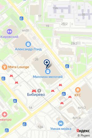 АДВОКАТСКАЯ КОНТОРА ПРАВО И БЕЗОПАСНОСТЬ на карте Москвы