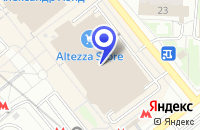 Схема проезда до компании САЛОН МЕБЕЛЬНАЯ ФАБРИКА LEGNA CLASSIC в Москве