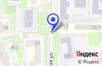 Схема проезда до компании МОСКОВСКАЯ ПАРУСНАЯ ШКОЛА в Москве