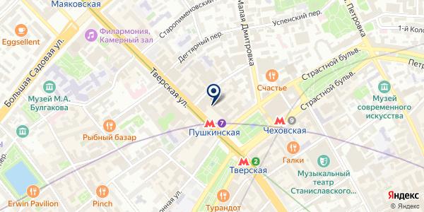 ИНКОМ на карте Москве