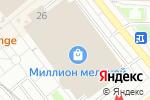 Схема проезда до компании Fabius в Москве