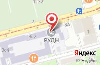Схема проезда до компании Амбер Софт в Москве