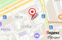 Схема проезда до компании Издательство «Кедр» в Москве