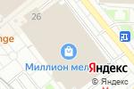 Схема проезда до компании Стильные интерьеры в Москве