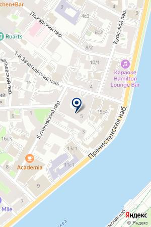 ФИТНЕС-ЦЕНТР ORANGE FITNESS на карте Москвы