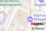 Схема проезда до компании АКБ Трансстройбанк в Москве