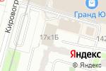 Схема проезда до компании Почтовое отделение №117519 в Москве