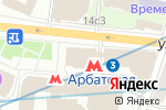 Схема проезда до компании А-ПЛАН в Москве