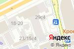 Схема проезда до компании АльфаБизнес в Москве
