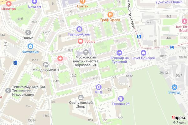 Ремонт телевизоров 4 й Верхний Михайловский проезд на яндекс карте